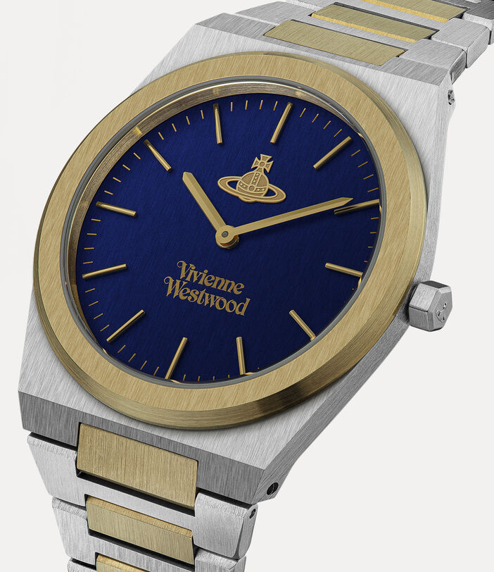 Limehouse Grand Watch Blue/Silver 2