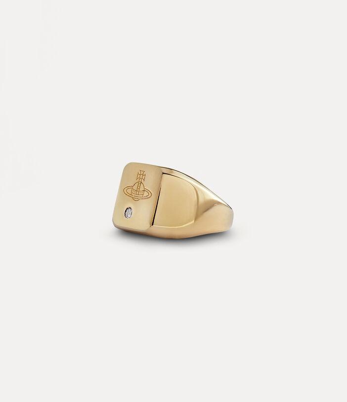 Carlo Ring Gold-Tone 2