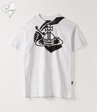 Boxy T-Shirt Arm & Cutlass White