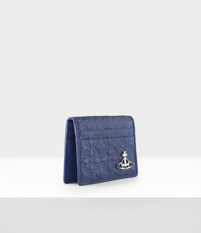 George Man Card Holder Blue 2