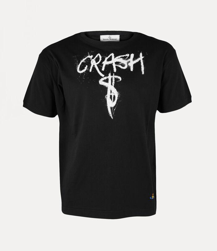 Man Crash T-Shirt Black 1