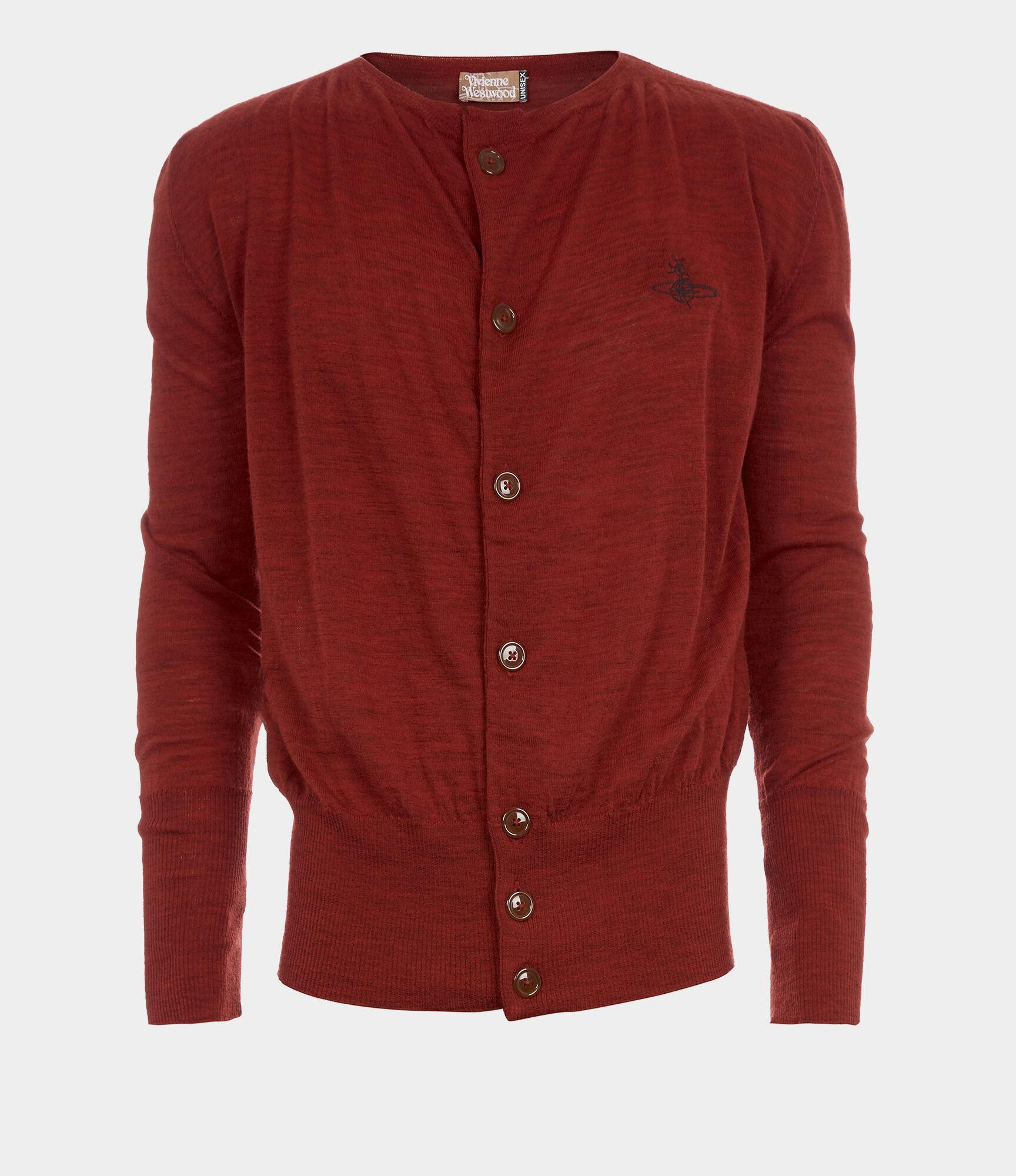 War Cardigan Red