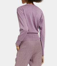 Classic Knit Cardigan Dusty Pink