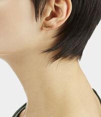 VW Earrings Gold Tone