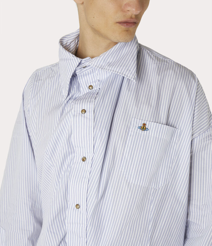 Chaos Shirt Blue Stripe 5