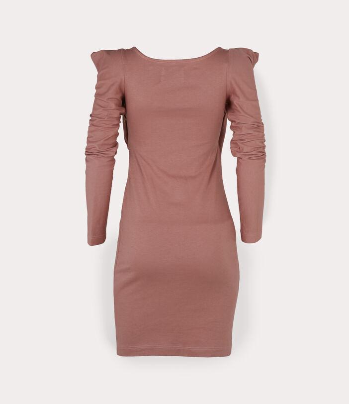 Elizabeth Jersey Dress Dusty Pink 2