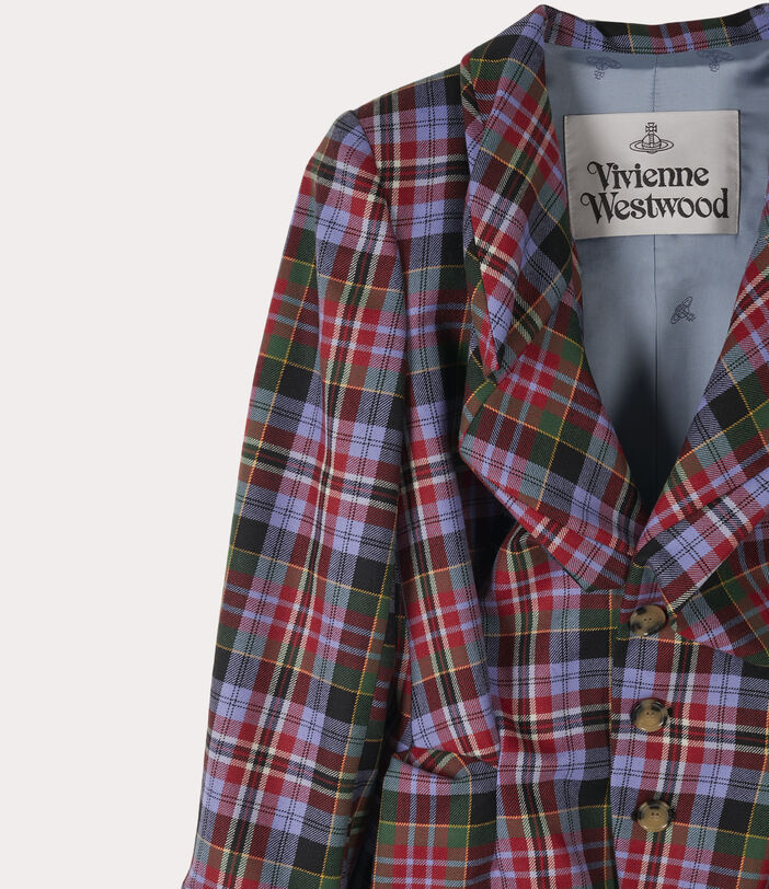 Drunken Tailor Jacket Brick Tartan 3