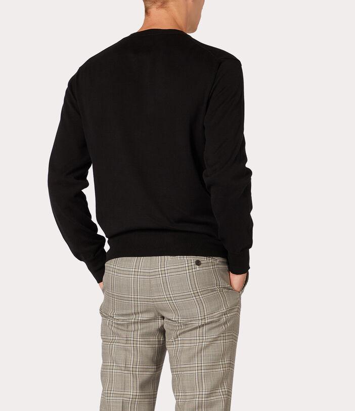 Classic Roundneck Sweater Black 4