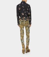 Sid Shirt Floral Silk Jacquard