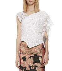Amnesty Top White