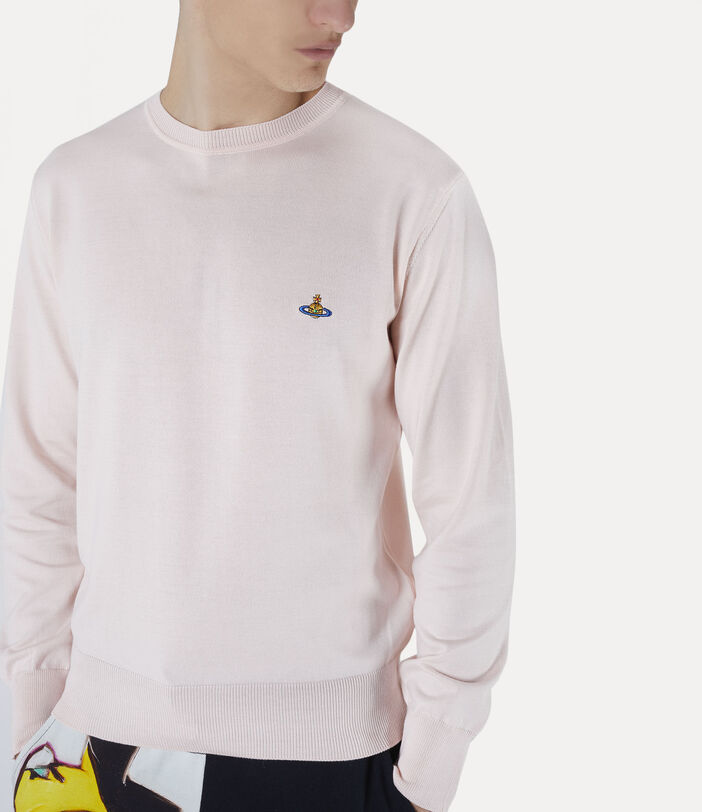 Classic Roundneck Sweater Pink 4