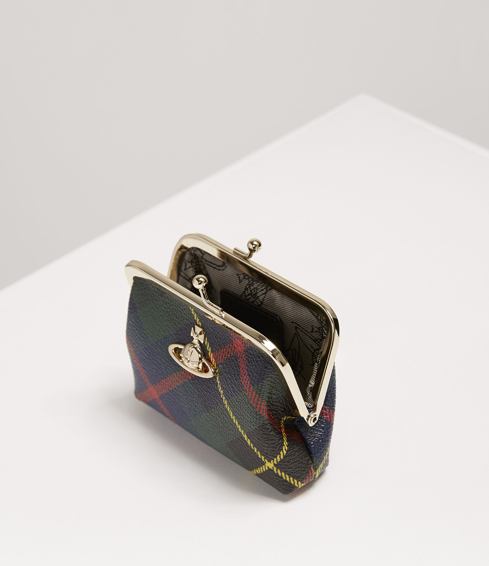 e1be752ac7a Vivienne Westwood Women's Designer Wallets and Purses   Vivienne Westwood -  Derby Frame Coin Purse Hunting Tartan