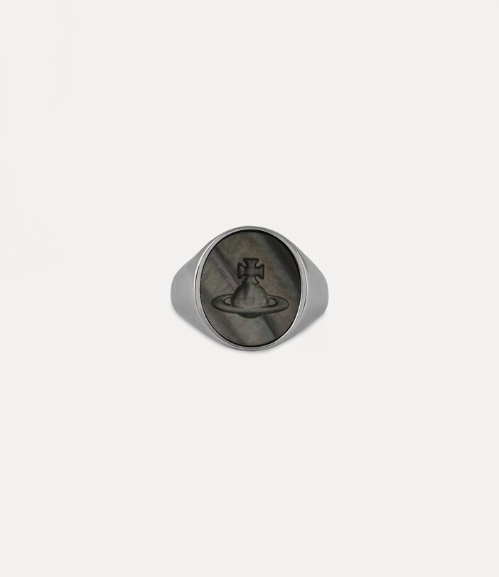 Ulysses Ring Silver-Tone 1