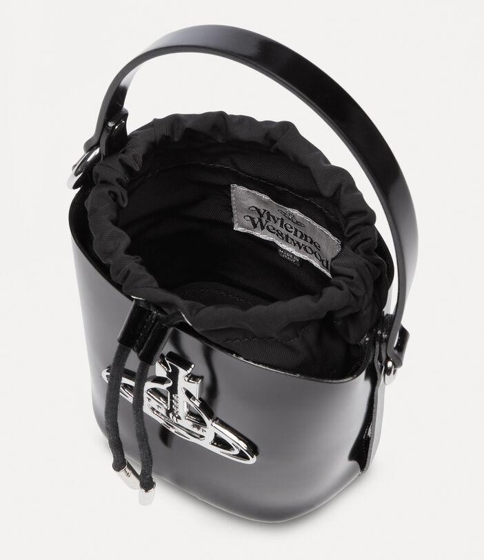 Betty Small Bucket Bag Black 5