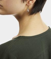 Lena Orb Earrings Gold/Silver Tone