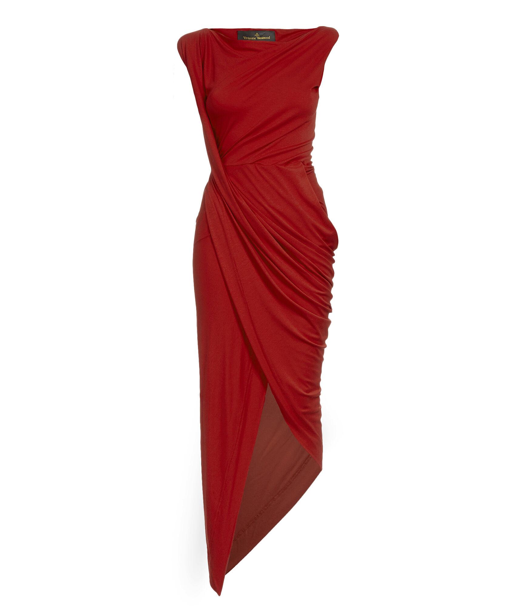Vian Dress Red