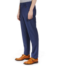 Classic Wool Trousers Blue