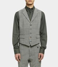 Waistcoat Black/White