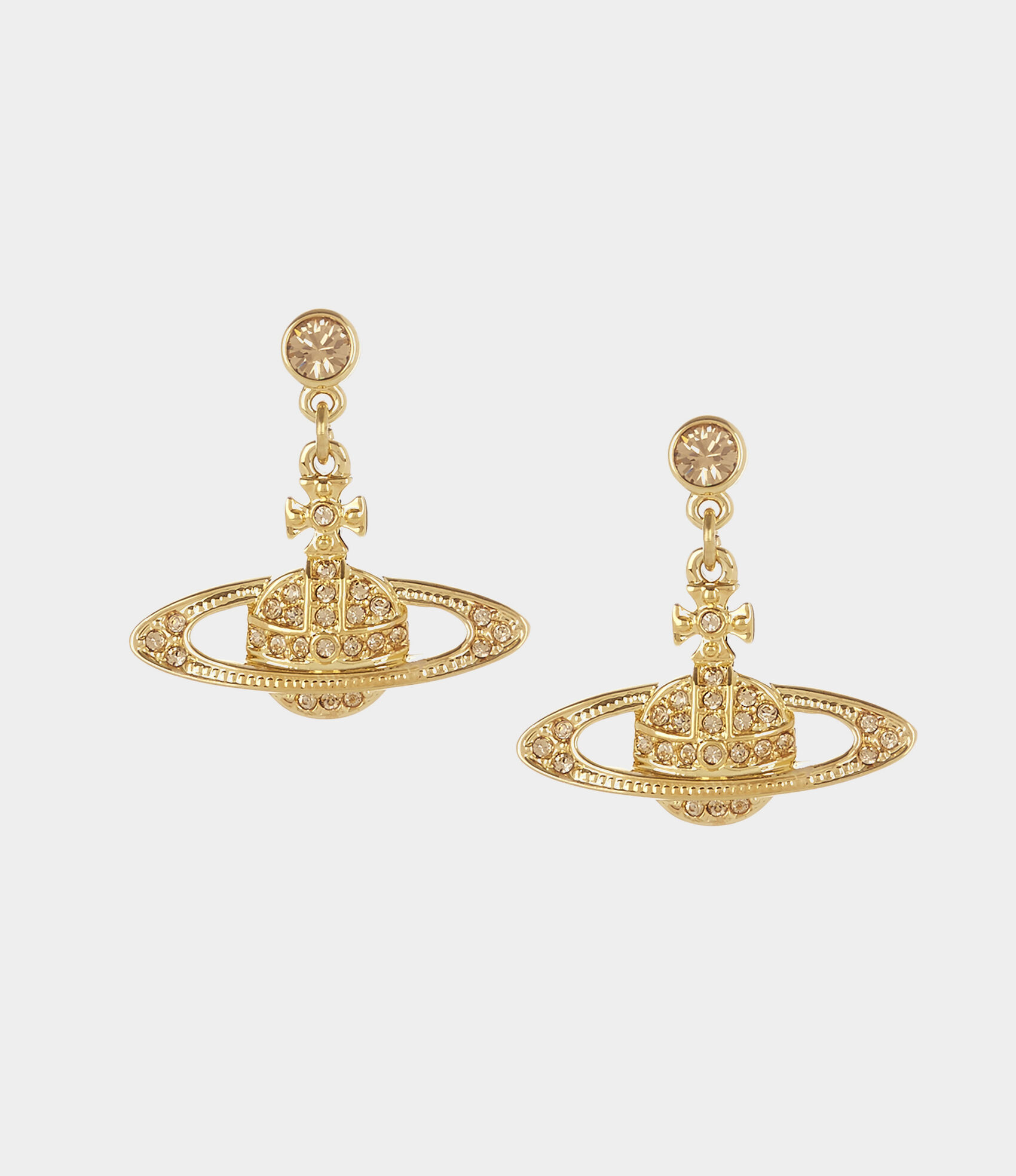 Vivienne Westwood Earrings Women S Jewellery Mini Bas Relief Drop