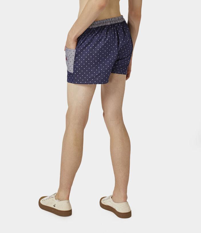 We Boxer Shorts Navy/Silver Dots 4