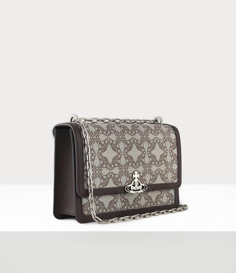 VIVIENNE WESTWOOD Bags Debbie Large Bag With Flap Multicolour