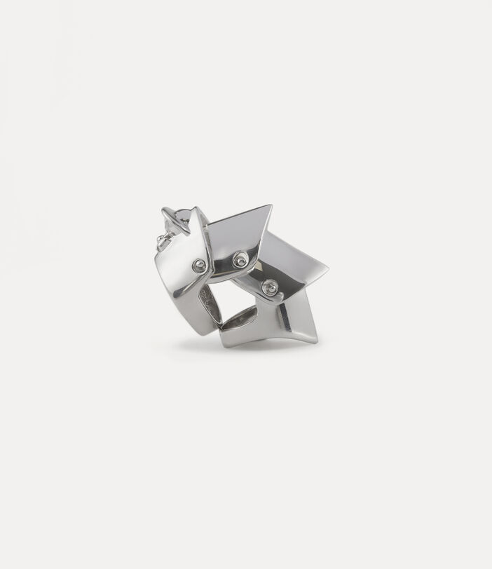 Armour Ring Silver-Tone 3