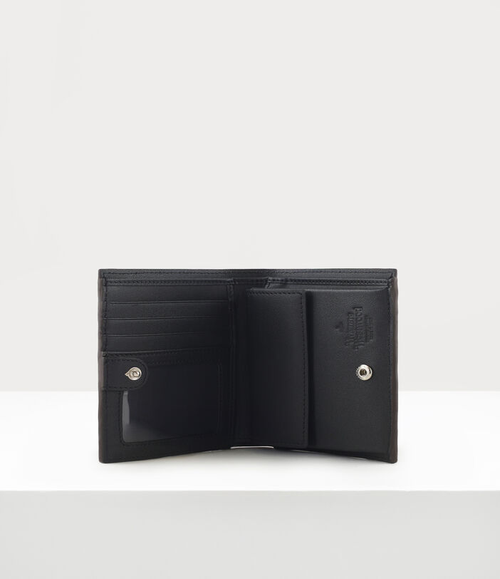 Debbie Card Case With Chain Brown 3