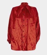 Hals Shirt Red