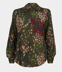 Pianist Shirt Green Camouflage