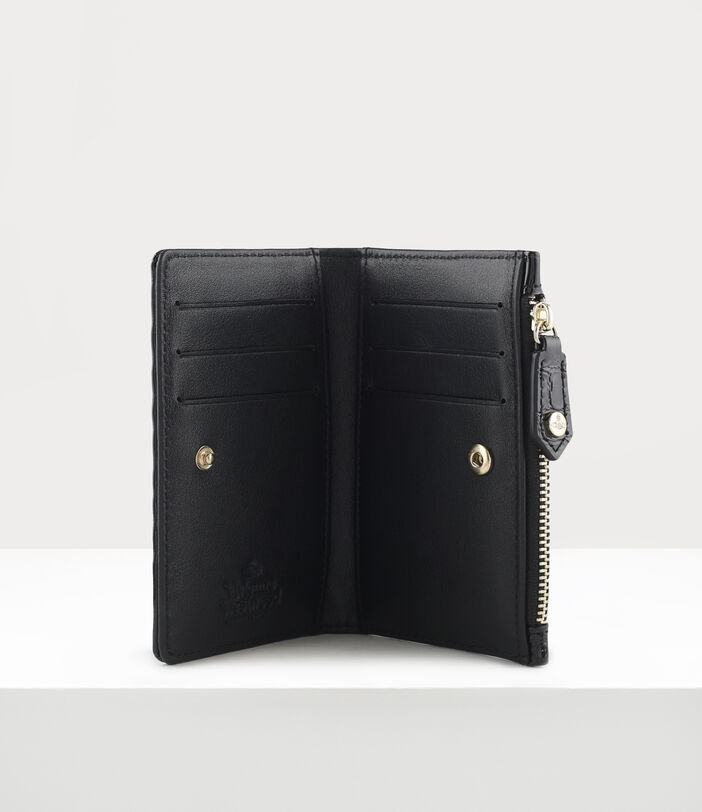 Archive Orb Slim Flap Card Holder Black/Iridescent 3