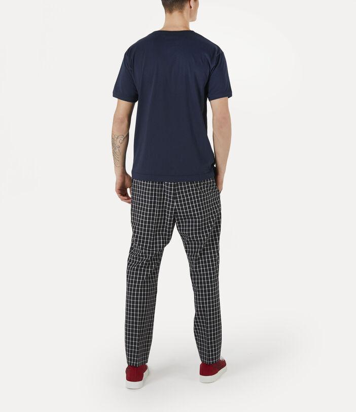 Man Punk T-Shirt Navy 3