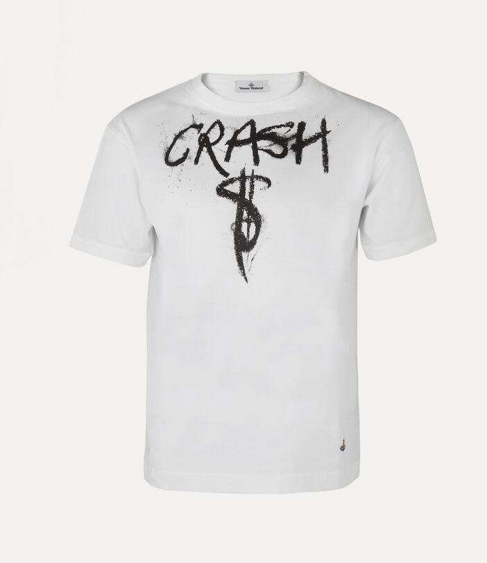 Man Crash T-Shirt White 1