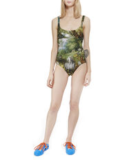 Paradise Swimsuit Green