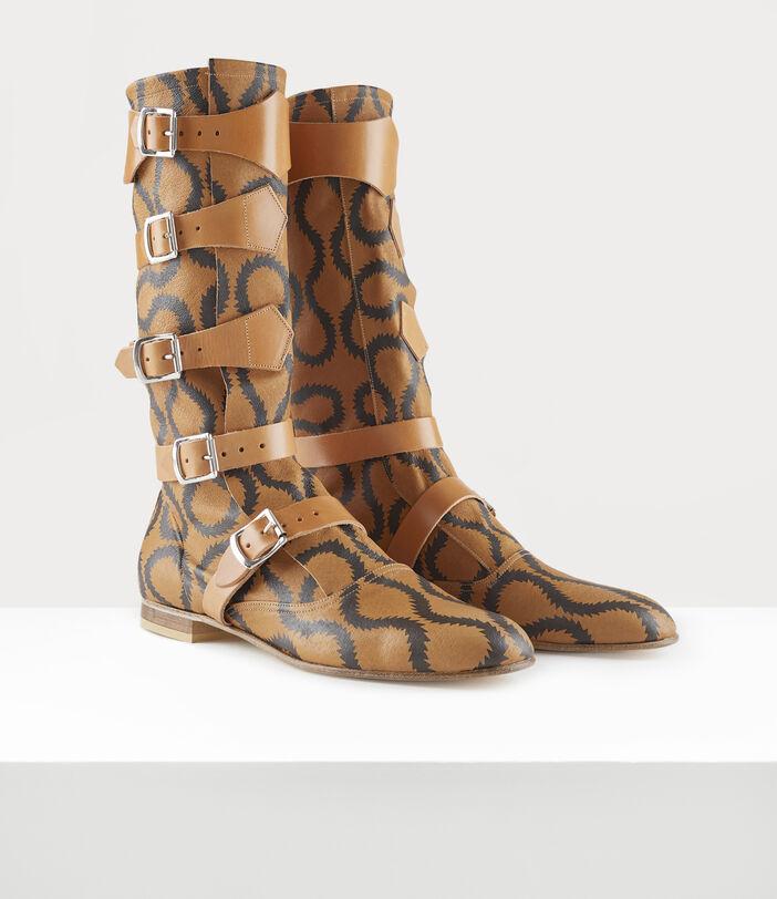 Pirate Boots Tan/Brown 3