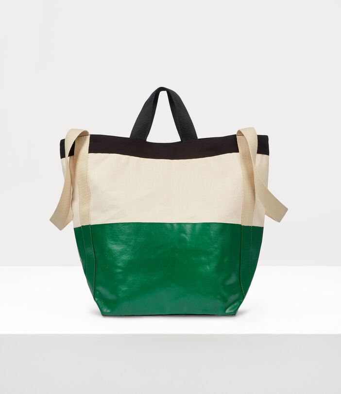 Worker Runner Holdall Green/Beige 3