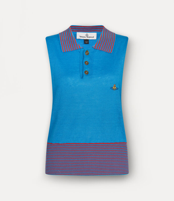 Polo Top Turquoise 1