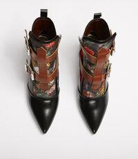 Bondage Boots Floral