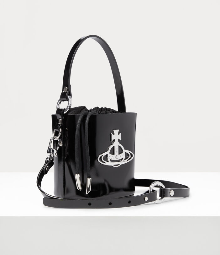 Betty Small Bucket Bag Black 3