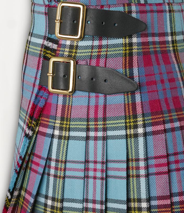 Mini Kilt Mac Andreas Blue Tartan 3