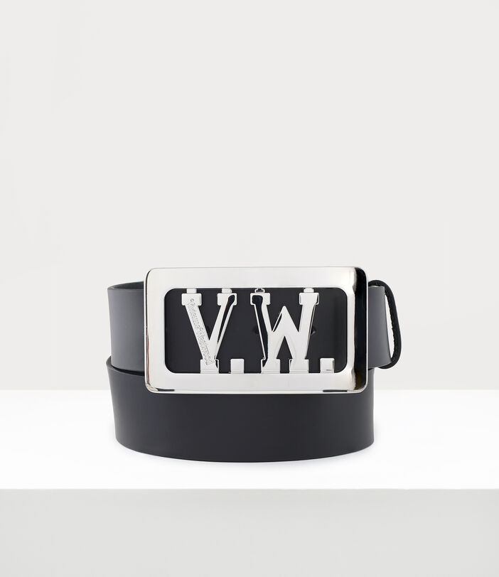 Vw Buckle Belt Black 1