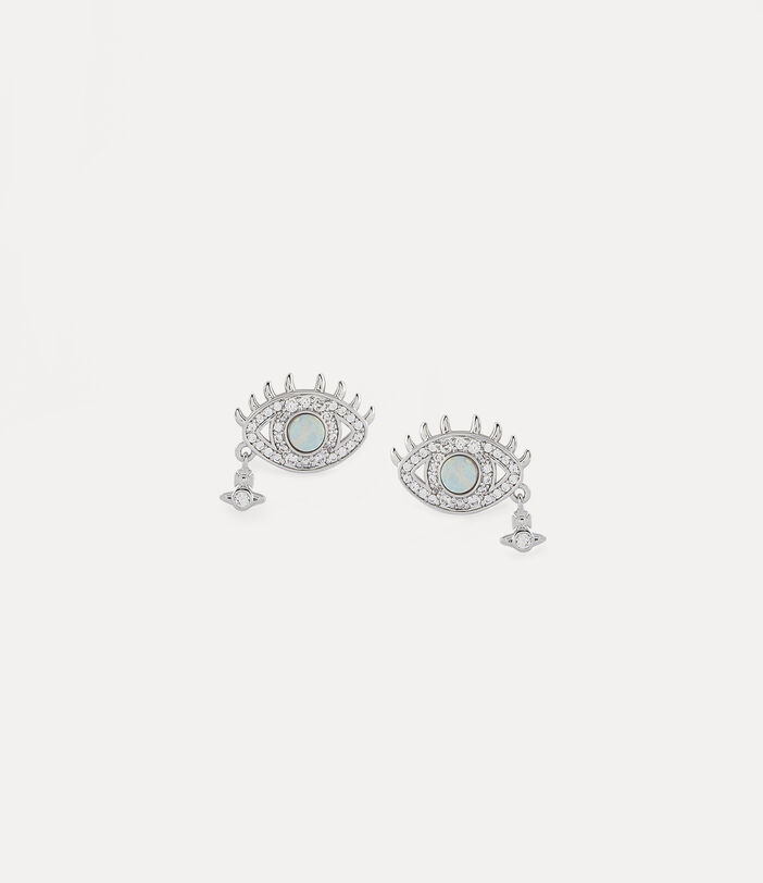 Rahmona Earrings Silver-Tone 1