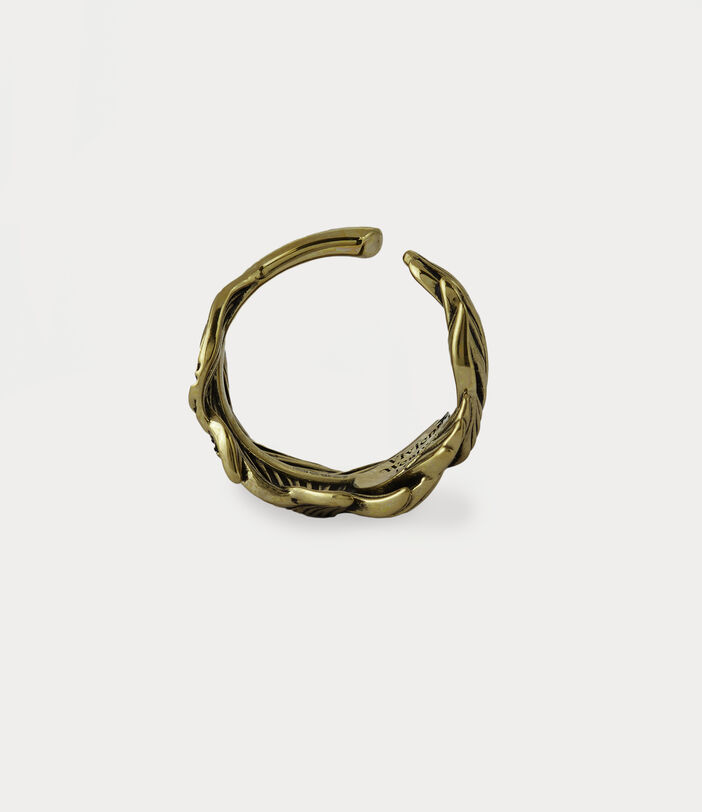 Eugenio Ring Antique Gold-Tone 3