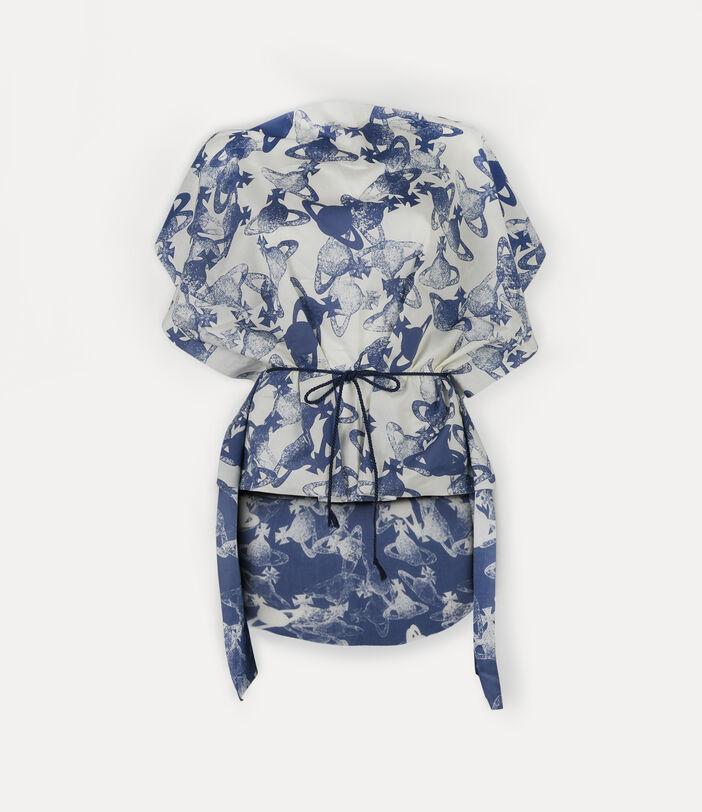 Beach Dress Navy Blue 1