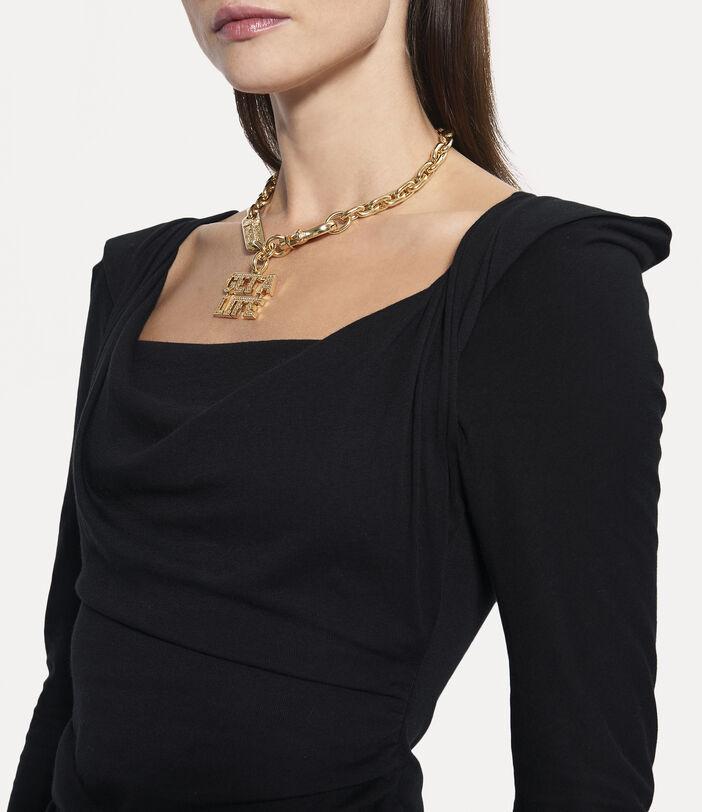 Elizabeth Jersey Dress Black 5