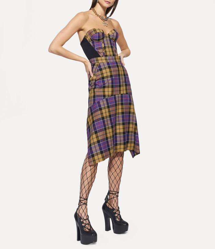Tailored Phoenix Skirt Tartan 2