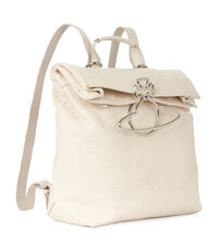 Small Oxford Backpack 43010011 Cream