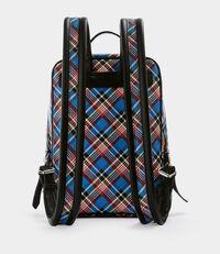 Shuka Tartan Backpack Blue