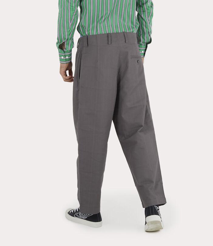 Alien Trousers Grey Check Herringbone 4