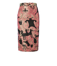 Pencil Skirt Pink