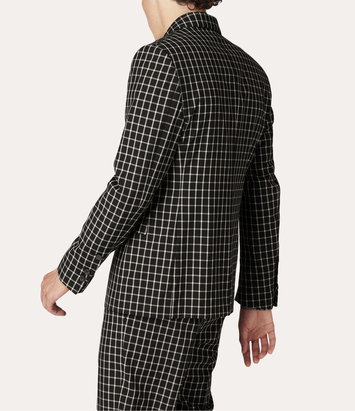 Peacock Jacket Black Small Check 4